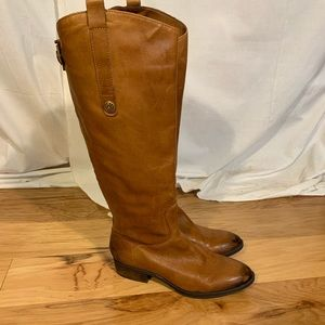 Sam Edelman whiskey colored penny riding boot. 7